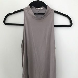 urban outfitters mock neck sleeveless